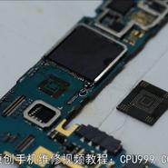 成功修复字库掉8个点的报废三星S5,手机主板焊盘飞线,BGA芯片飞线