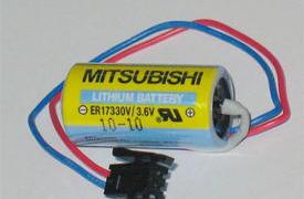 MITSUBISHI 三菱系统电池 ER17330V/3.6V正品