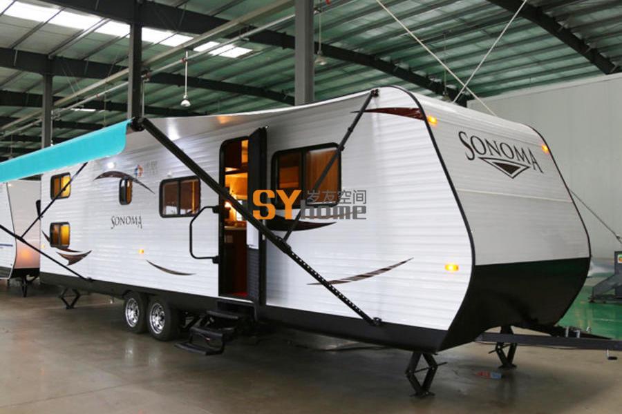 低调奢华 表里不一 T90S-D 营地专用房车