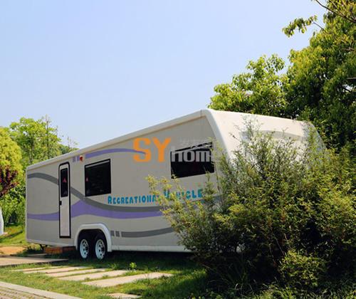 T90SFL营地专用房车 商务休闲度假 拖挂式房车