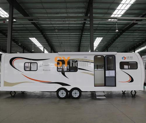 低调奢华 表里不一 T90S-C 营地专用房车