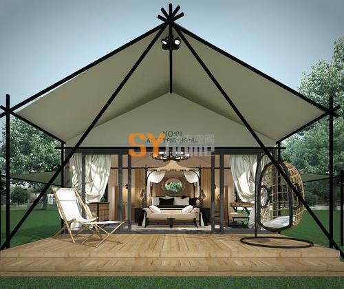 SYZ011|酒店式帐篷房 云图帐篷 一室户
