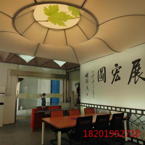 办公楼大厅软膜天花