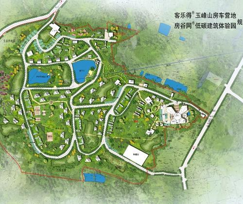 Customer rotel (Chongqing) Yufengshan RV campsite building space field visits