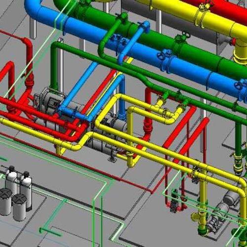 专业管道颜色管理设计图