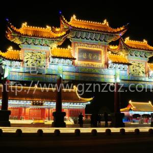 北京古建筑投光燈小射燈案例