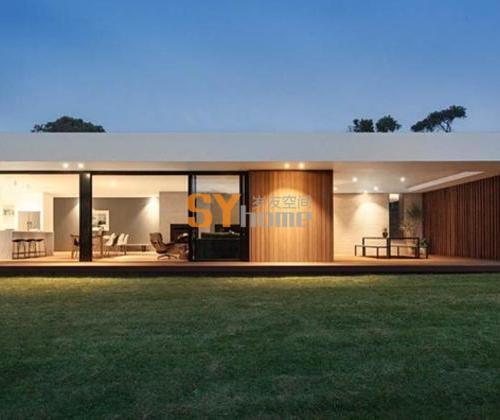 沿海现代风格小住宅