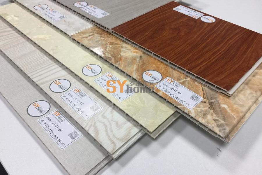SYQY056|装饰精美建筑产品的内外木塑装饰板、002