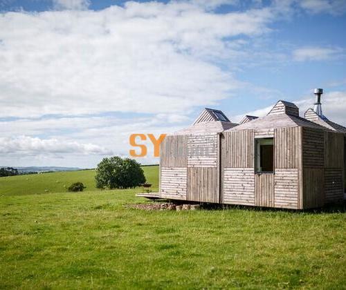 苏格兰羊场的集成小木屋,实现真正的绿色节能