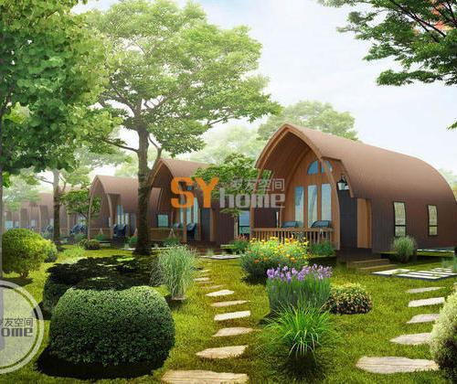 SYM003|核桃小木屋 一室户 农庄住宿 硬木结构