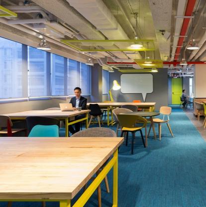 现代办公室装修图片