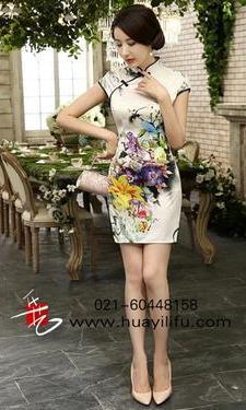 短旗袍056