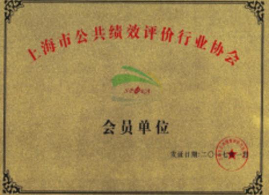 上海财政局绩效评价入库单位