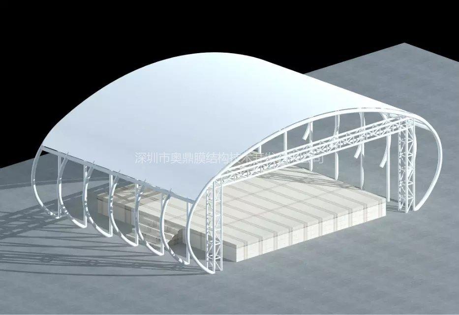小品舞台膜结构