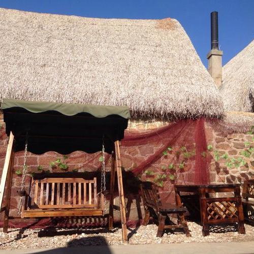 我的田园梦,儿时的海草房。