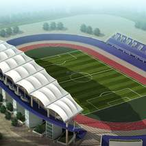 广州球场膜结构 奥鼎球场膜结构 球场张拉式膜结构工程,奥鼎膜结构全国承接