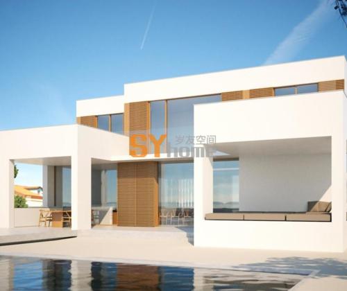布拉瓦海岸的独立住宅