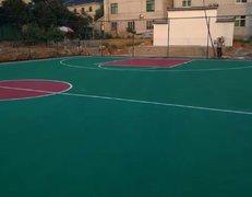 湖州市长兴县和平镇韦山村篮球场