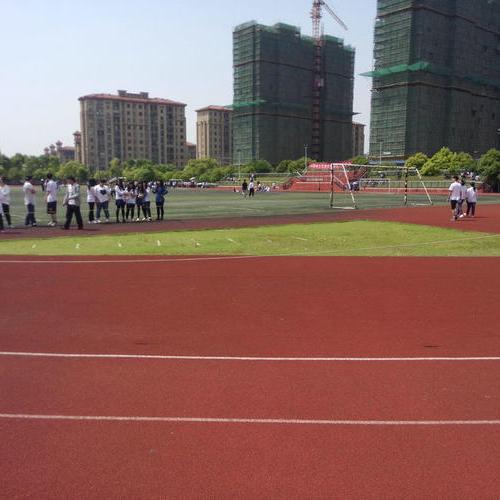 上海采红塑胶跑道施工案例—上海美术学院