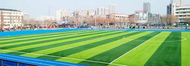 上海采红塑胶跑道施工案例—山东昌邑