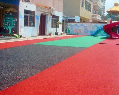 染色型塑胶地坪