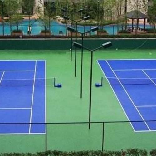 上海采红塑胶跑道施工案例——上海财经大学