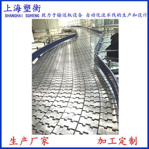 不銹鋼鏈板輸送線