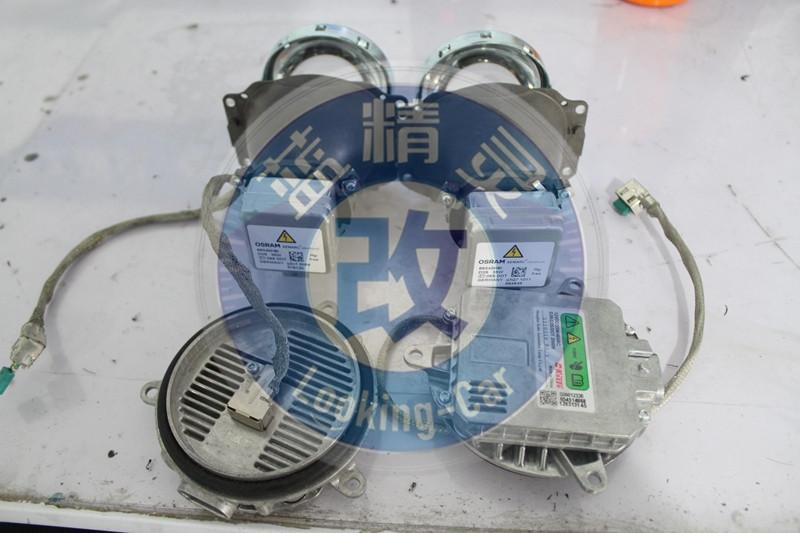 小糸q5双光透镜氙气灯上海蓝精灵改灯配置