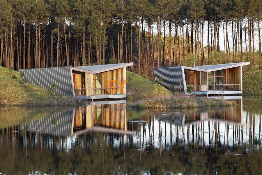沿湖岸散落的明珠——风景如画的生态酒店