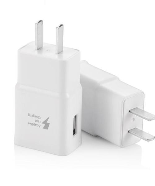 适用 三星 安卓手机 通用充电器 S6 S7 edge Note4 5 C5 C7 9V快充头 数据线