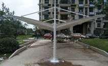 淮安膜结构停车棚