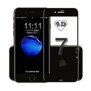 适用 苹果iphone8钢化膜 苹果X/10 8Plus 7Plus 6Plus 6S 冷雕4D曲面全屏覆盖 防爆钢化膜 贴膜