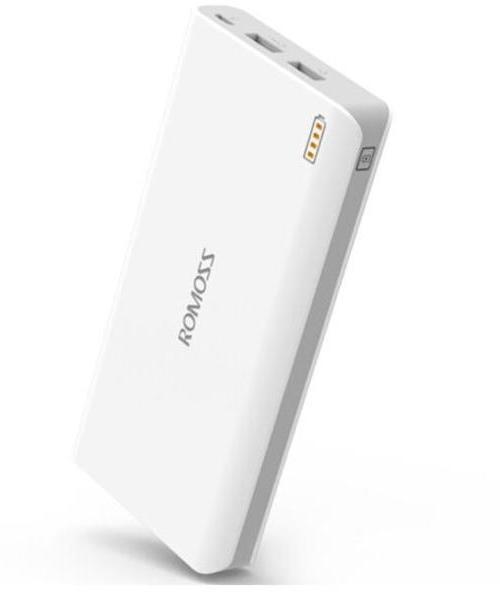 罗马仕(ROMOSS)sense6 加量版超智能 20000毫安 移动电源 充电宝 双输出 适用 苹果 安卓手机