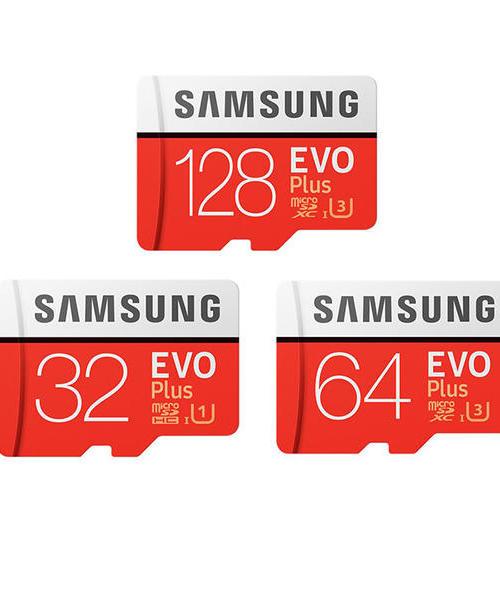 三星(SAMSUNG)存储卡 32G 64G 128GB UHS-3 UHS-1 Class10 高速TF卡 Micro SD卡