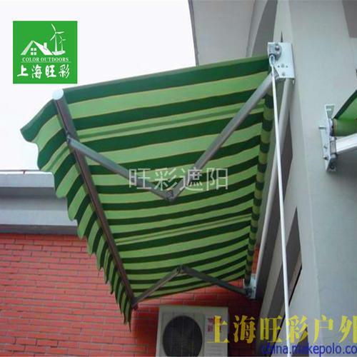 C型曲臂遮阳棚