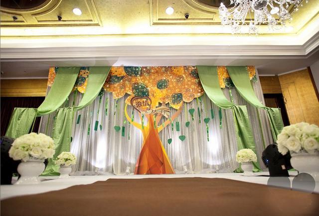 精美婚礼现场布置效果图 让你的婚礼更**