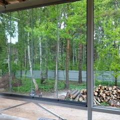 Finzone20 sliding terrace glazing