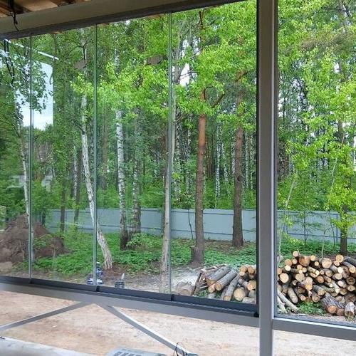 Finzone20 sliding terrace glazing