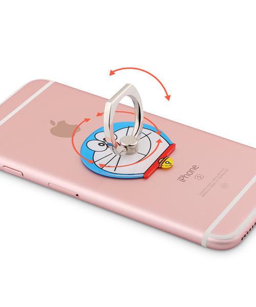 指环支架苹果桌面手机扣 小米 vivo 华为 oppo 指环扣通用懒人粘贴式卡通直播支架抖音