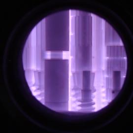 氮化炉内景