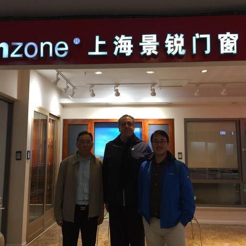 Welcome Mr.vincenzo to Finzone balcony glazing