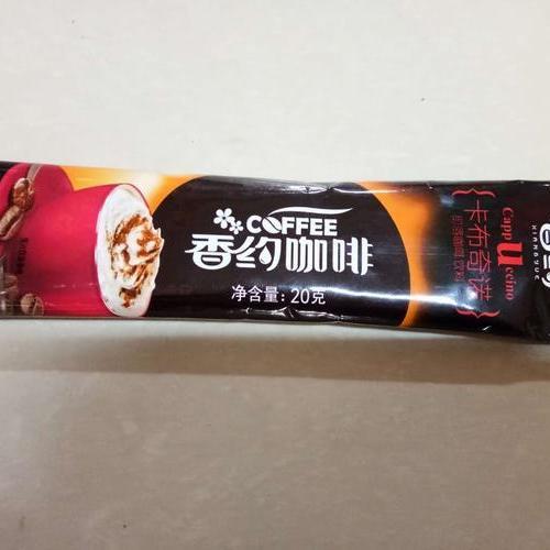 香约咖啡卡布奇诺 20克