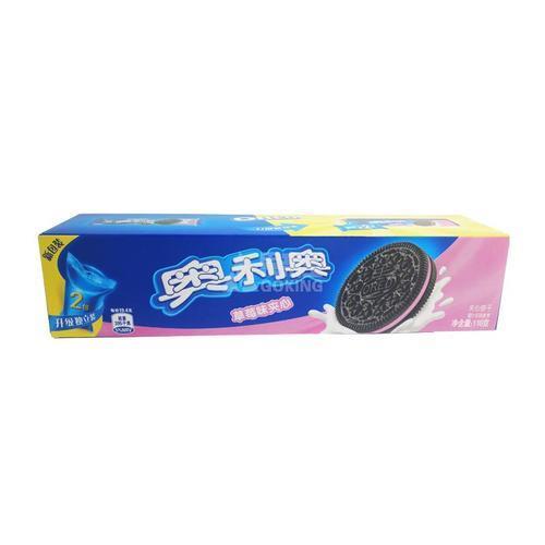 奥利奥草莓夹心饼干116g