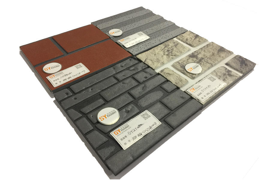 SYQY080|水泥纤维板之三防三维外墙板