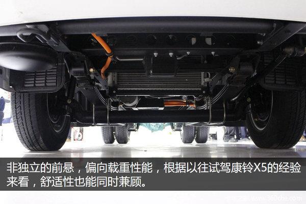 帅铃i3电动车续航180km能适应不同上装