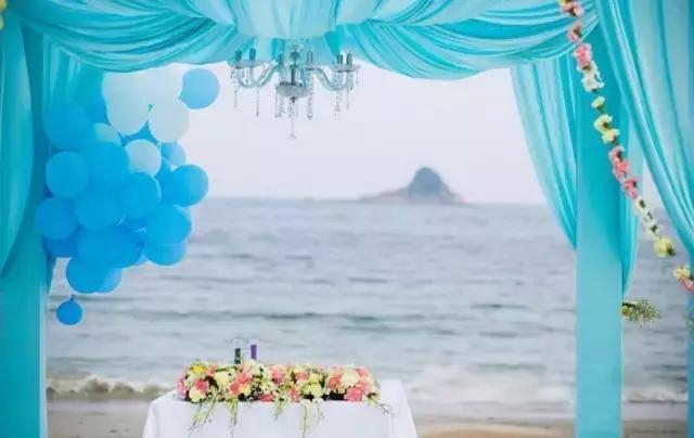 海滩婚礼策划如何做 让婚礼更加浪漫