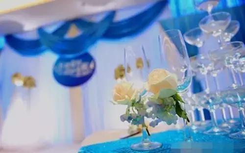 蓝色主题婚礼策划方案 婚礼上的创意点子