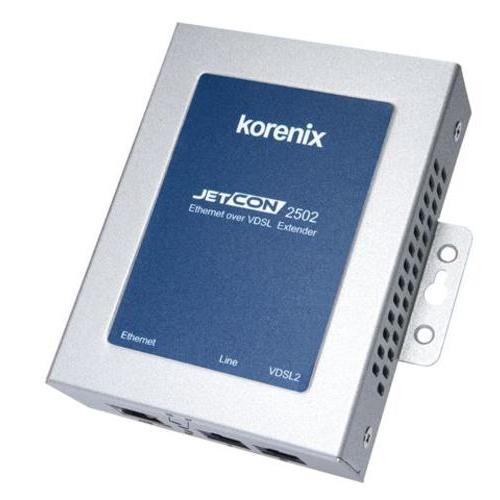 JetCon 2502 工业以太网转VDSL2扩展器