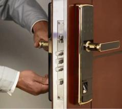 指纹密码锁