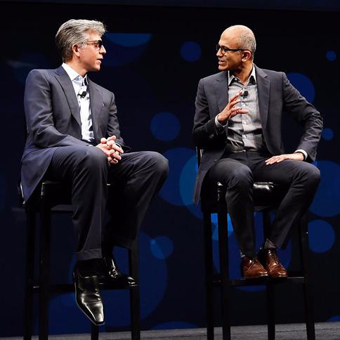 微软与SAP执行官
